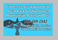 Mountainside Parcel & Post, Young Harris GA